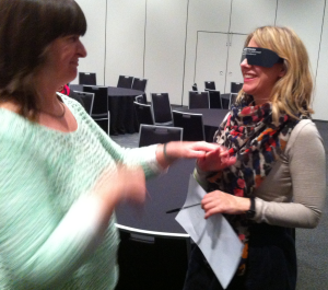 DeafBlind World Workshop with rep from Melbourne City Council